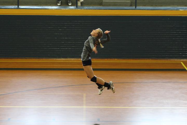 Cougars spike Eagles