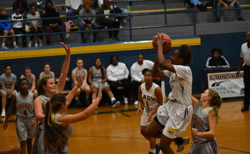 Lady Cougars roll in opener